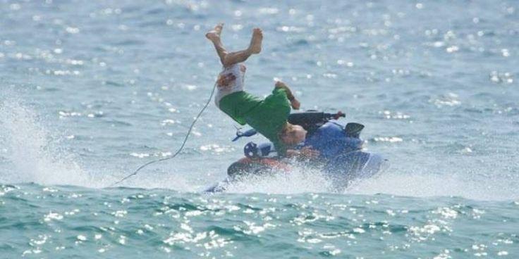 Τζετ σκι εμβόλισε σκάφος στην Κρήτη