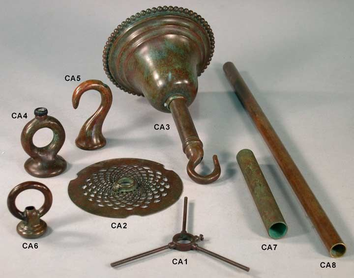 20 best Tiffany lamps metalware metal parts images on Pinterest ...