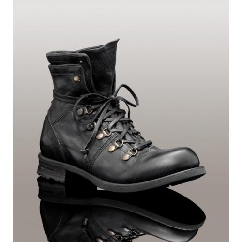 Ruggero Black Boot 3491