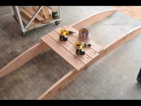 How To Build A Arched Garden Bridges, Pond,Filter, Build, Construction,