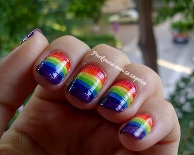 Nail Challenge: Rainbow   Pardonne-moi ce caprice