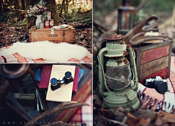 Vintage camping engagement shoot.  Lost In Love :: {Washington Engagement & Couples Photographer} » VeLvet OwL Photography Blog