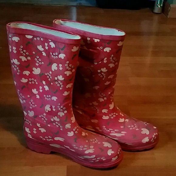 Dry Walk Rain Boots Pink  Boots, Rain Boots, Clothes Design-5447