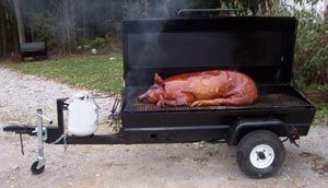 Been saving money for a pull behind roaster. Maybe next year I'll be ready. This is in the running. Roasted Pig on a PR72GT Gas Pig Roaster