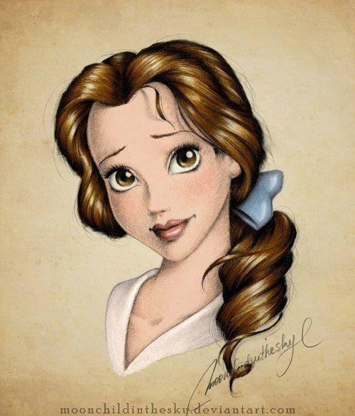 дисней принцессы арт - Поиск в Google