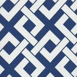 Boxed In Periwinkle Contemporary Outdoor Fabric - Discount Fabrics