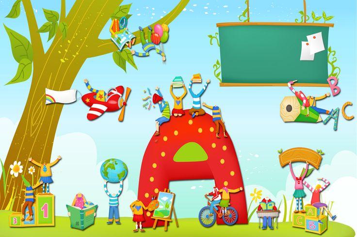 fondos infantiles escolares - Buscar con Google | Promociones