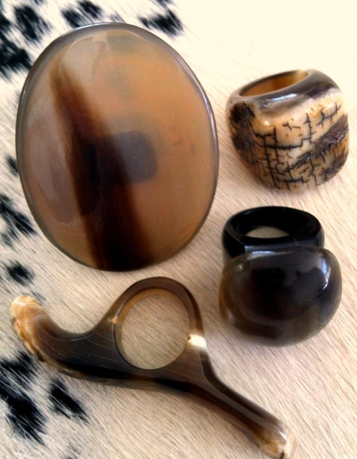 Unique horn pieces