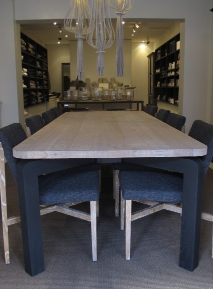 Pond Home Solid Oak Dining Table