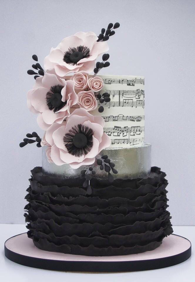 music themed wedding cake 19 best instrument cakes images on 17667