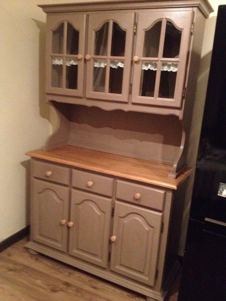 Display Cabinet Dresser In Annie Sloan Coco Chalk Paint