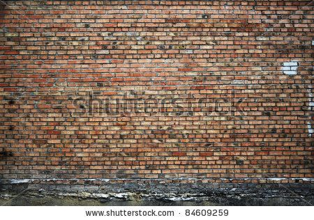Grungy Urban Background Of A Brick Wall With An Old Out Of Service Payphone On It Stock Photo 84718828 : Shutterstock
