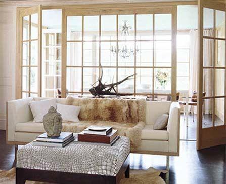 Indoor French Doors Glass