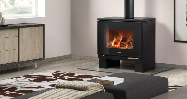41 best estufas images on pinterest stoves fire places - Estufas de lena hergom ...