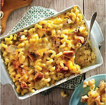 Armadillo Egg Mac and Cheese Casserole by @mytexaslife