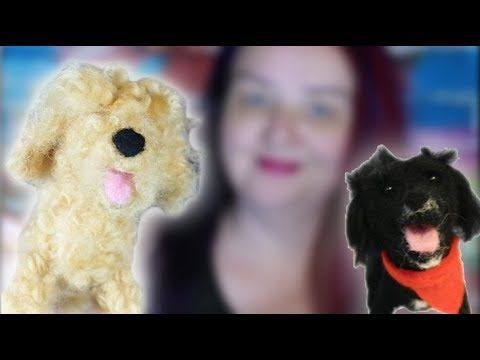 How to needle felt animals An open mouth - YouTube