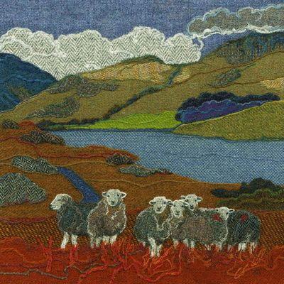 Animals, Birds & Flowers - Bright Seed Textiles
