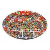 Where's Wally Party Plates : The Party Cupboard : Online Party Supplies Store Australia