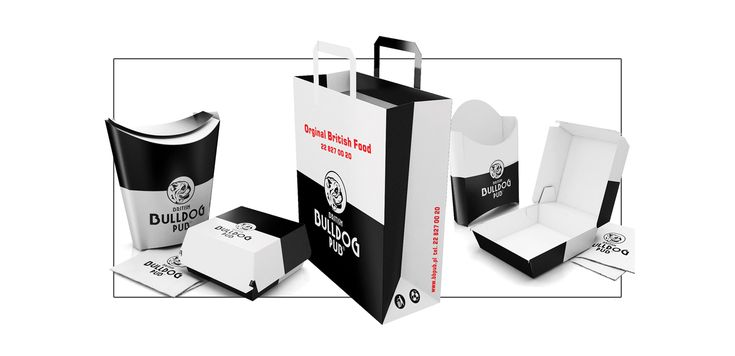 British Bulldog Pub on Packaging of the World - Creative Package Design Gallery