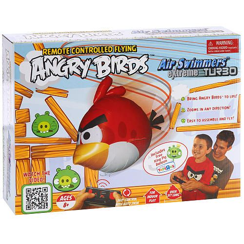 Birds Toys R Us : Angry birds air swimmers extreme turbo