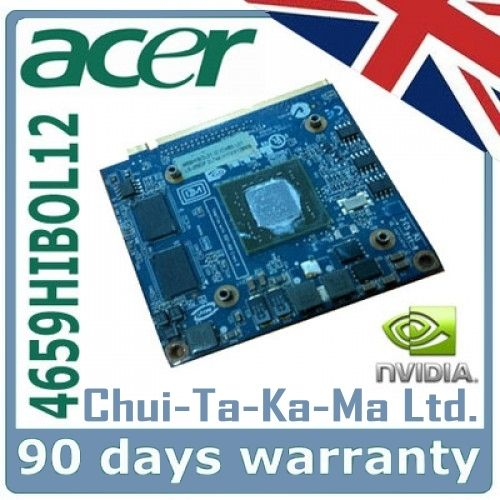 4659HIBOL12 Acer Aspire 5520G and 5920G Laptop Graphics Card BGA Repair Service - £34.95