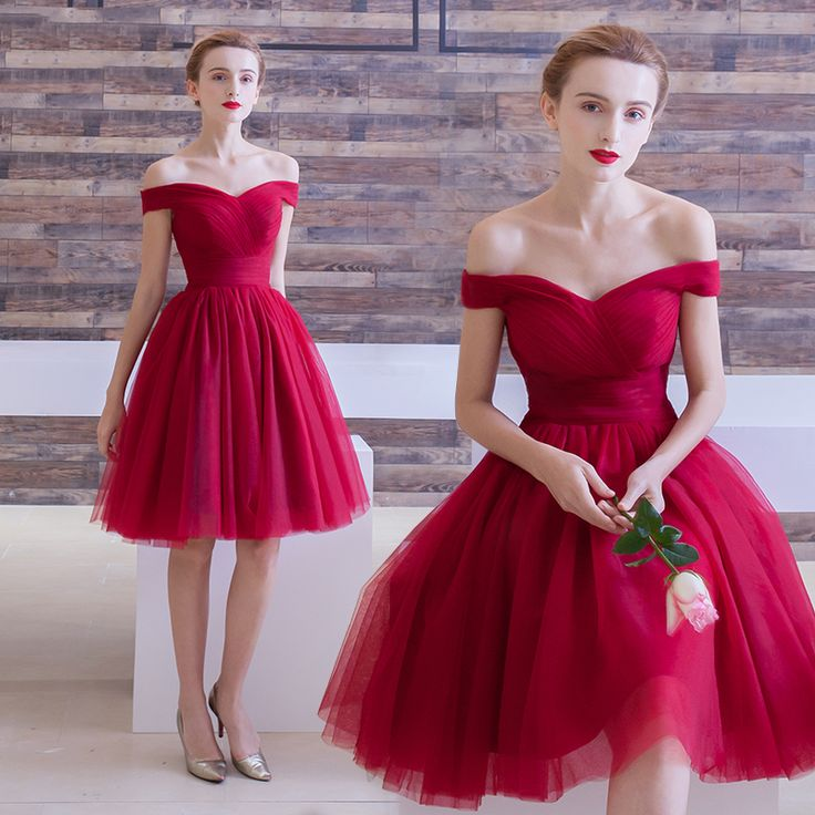 Off the Shoulder Short Homecoming Party Dress