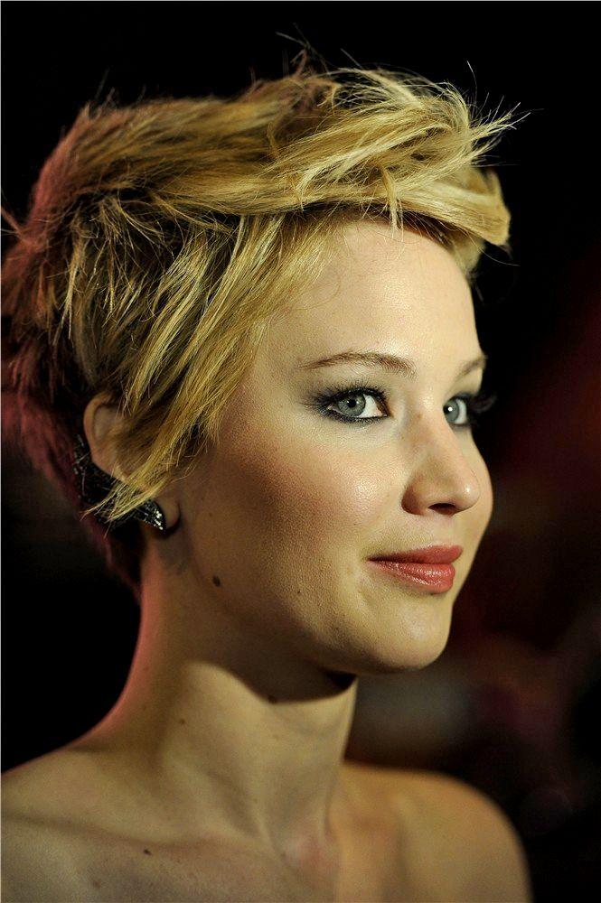 jennifer lawrence es una de las actrices de moda que ms rpidamente cambia de peinado tanto de color como de corte ahora lleva un u