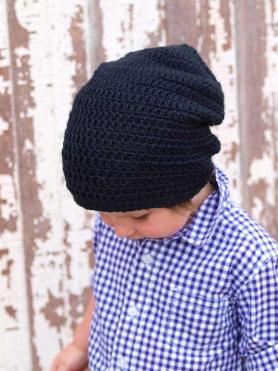 Slouchy Beanie Crochet Slouchy Hat Available size Baby to Adult  cc62b5b27f4