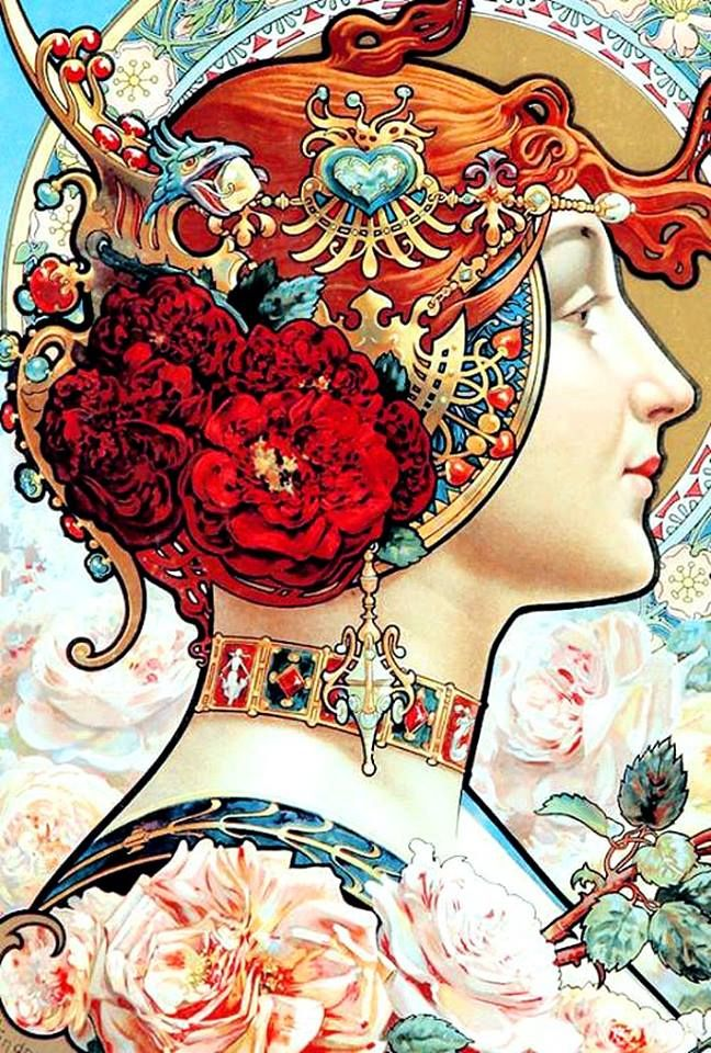 Art Nouveau Louis Théophile Hingre                                                                                                                                                                                 More