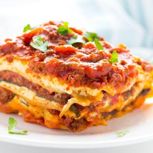 Spinach & Beef No Boil Lasagna