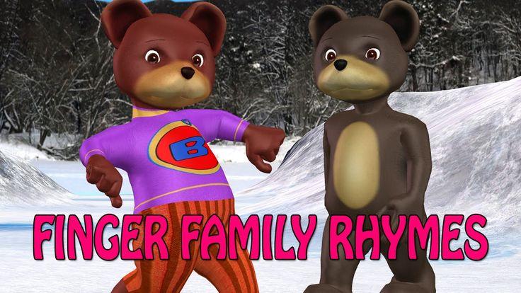 bear finger family song | 3d nusery rhymes for children | finger family ...