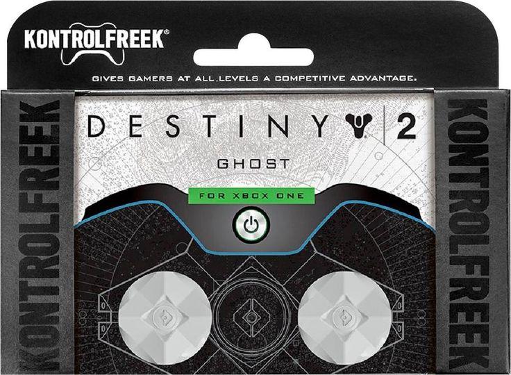 KontrolFreek - Destiny 2: Ghost Thumbsticks for Xbox One - Grey/Black