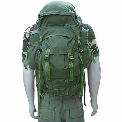 Mochila Pqdt Verde/preta/camuflada Camping Militar 45l 20%of - América Tático Aventura Artigos Militares Aventura Esportes Radicais e Camping.