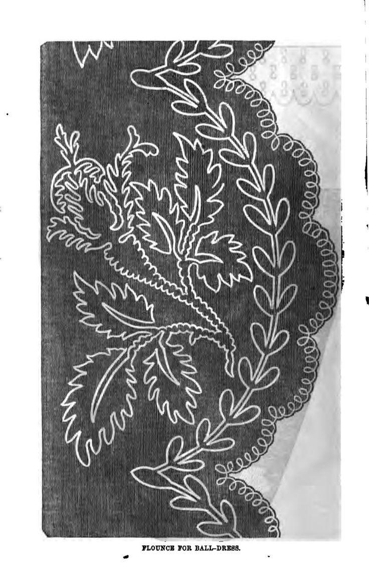 soutache embroidery pattern