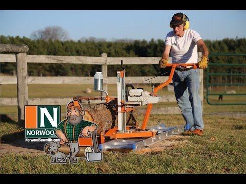 Aserradero portátil para motosierra PortaMill PM14 de Norwood - YouTube                                                                                                                                                                                 Más