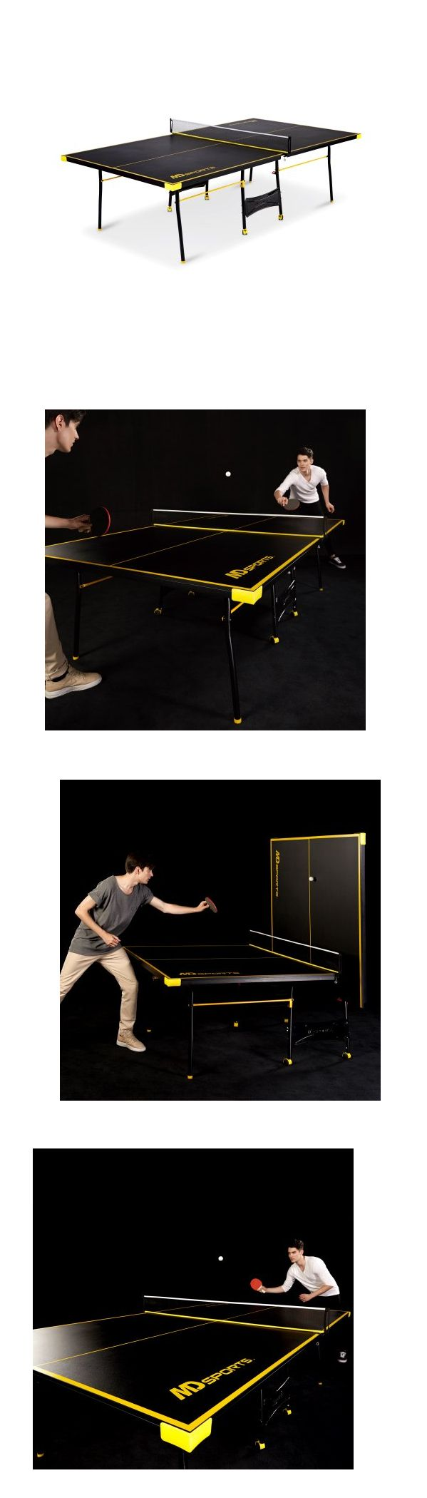 Tables 97075: Ping Pong Table Tennis Folding Tournament Size Game Set Indoor Outdoor Sport -> BUY IT NOW ONLY: $111.56 on eBay!