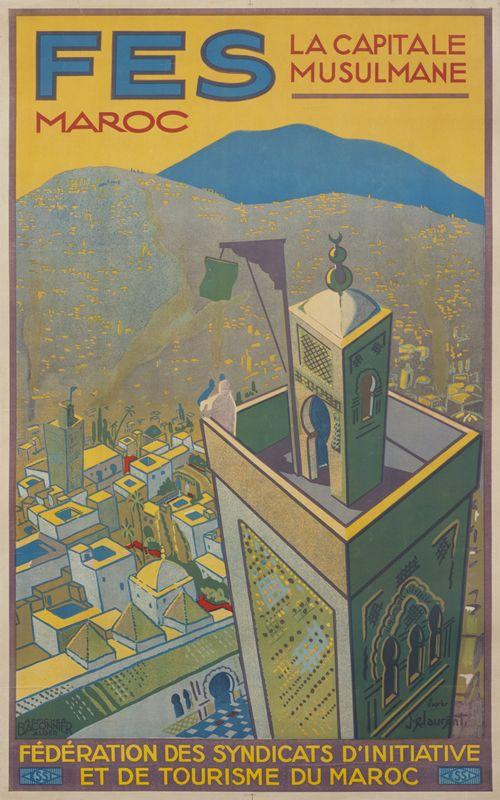 Fes Maroc - la Capitale Musulmane (Fez - the Muslim Capital) by dapres, J.E. Laurent