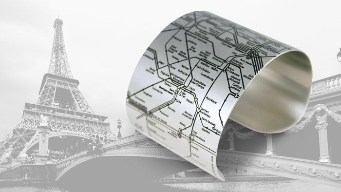 Paris Métro Cuff | AHAlife