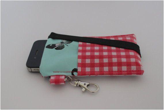 telefoonhoes / mobiele telefoon / Iphone  / tafelzeil / door byJuud
