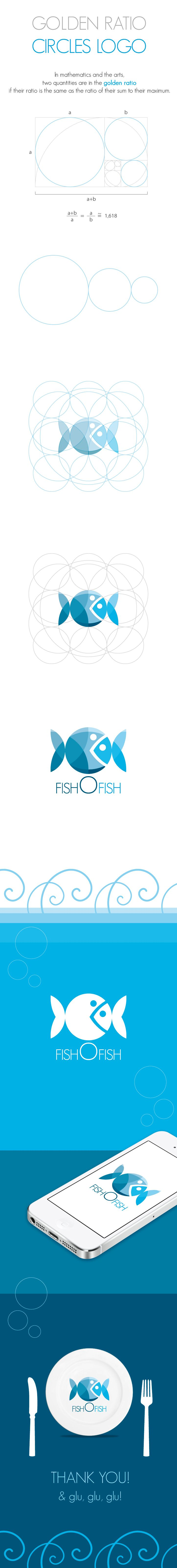 best 20 circle logo design ideas on pinterest logos logo fishofish is a logo composed by circles respecting the golden ratio