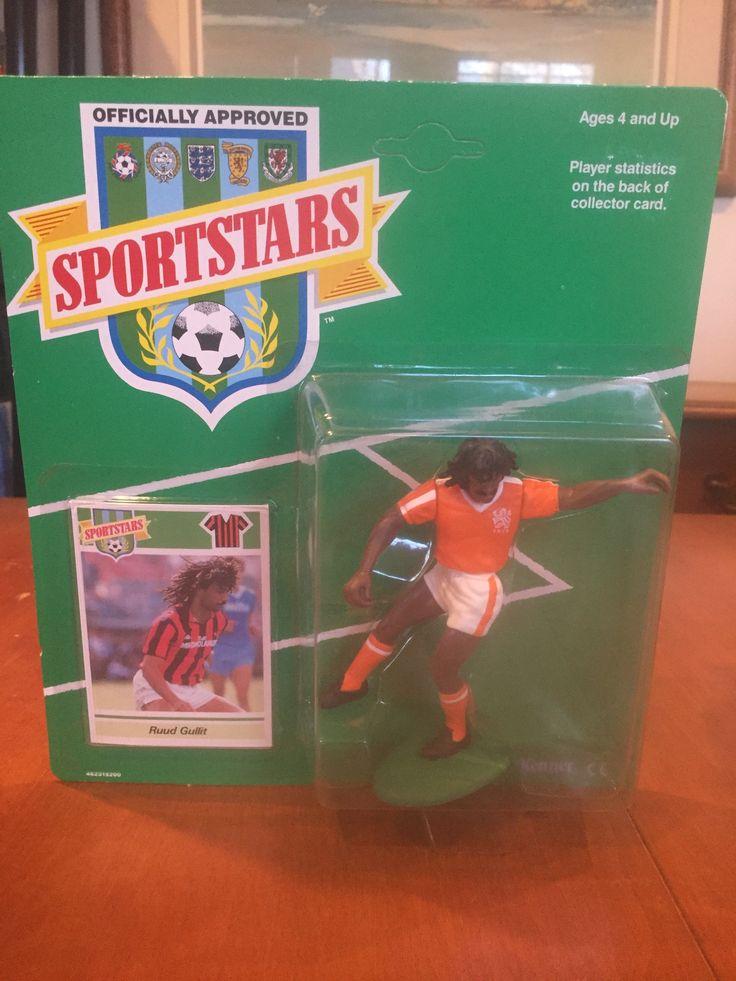 Ruud Gullit Netherlands Sportstars Action Figure Kenner NIB Holland KNVB Soccer
