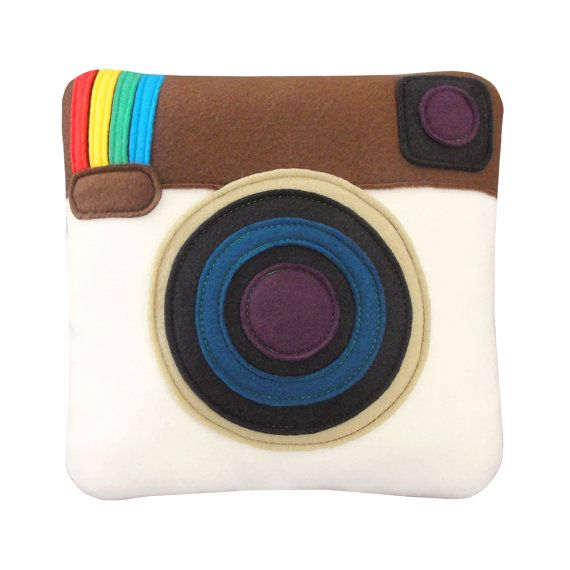 Instagram Pillow by Craftsquatch!