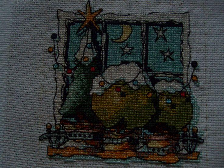 Michael Powell: Christmas Window for myself :)