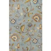 KAS Emerald Blue Quincy Floral 9030 Rug
