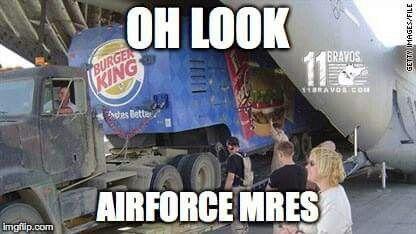 Air Force MREs!