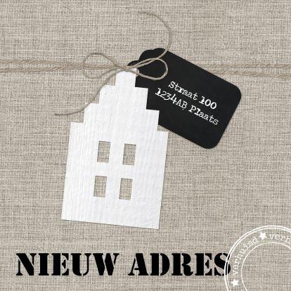 Hippe Verhuiskaart, verkrijgbaar bij Kaartje2go!