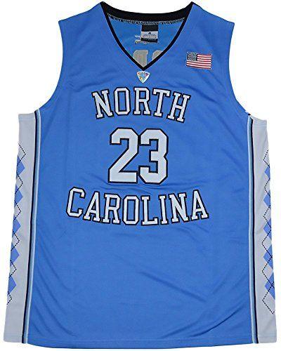 Cheap Men North Carolina Tar Heels 23 Michael Jordan College Basketball Jersey Blue XXX-Large Father day sale