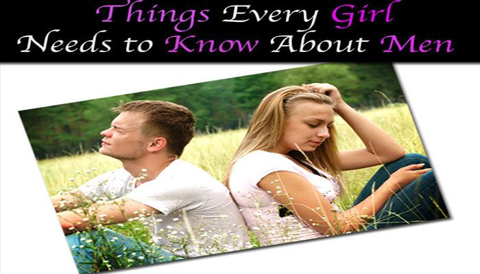 We will discuss things that every girl should know about men and thus you will get to know how to tackle such situations.