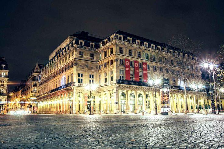 Paris - La Comédie-Française. One of series taken of deserted streets between 24 -26 December 2014.