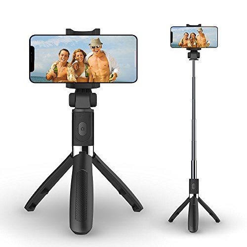 best service 9ef6d db4a7 Selfie Stick Tripod with Bluetooth Wireless RemoteAusemku Extendable ...